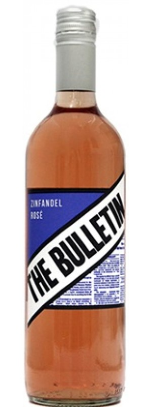 The Bulletin Zinfandel Rose 75cl