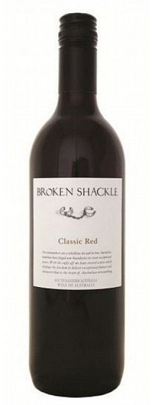 Broken Shackle Classic Red, South Eastern Australia 2018 75cl