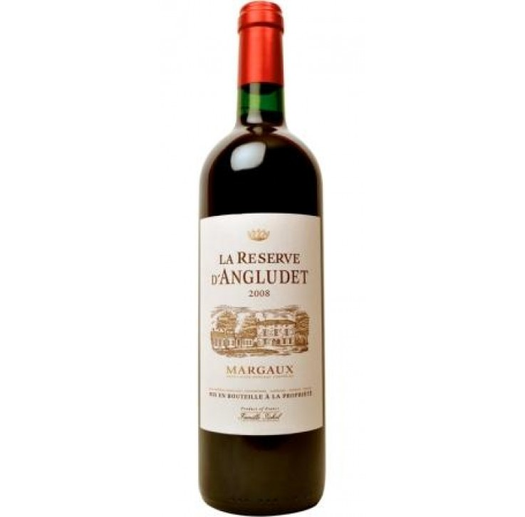 Chateau Angludet, La Reserve d'Angludet, Margaux 2015 75cl