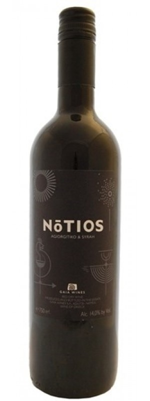 Gaia Wines, 'Notios' Red, Peloponnese 2018 75cl