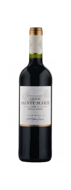 2016 Chateau Sainte Marie Red Bordeaux Superieur 75cl