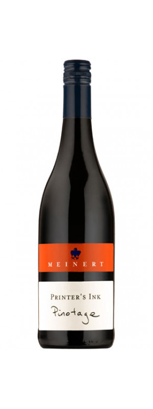 2017 Printer's Ink Pinotage, Martin Meinert 75cl