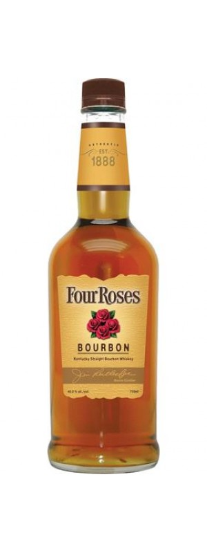 Four Roses Yellow Label Bourbon 70cl 70cl