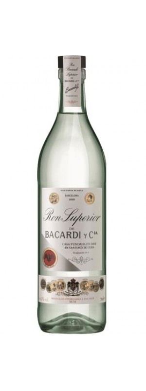 Bacardi Superior Heritage Rum 70cl 70cl