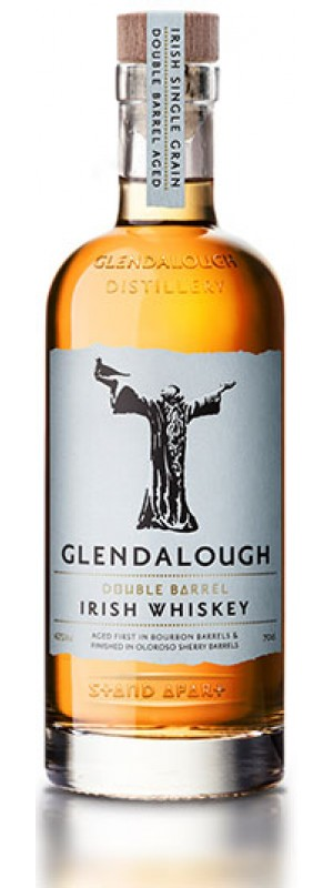 Glendalough Double Barrel Irish Whiskey  70cl