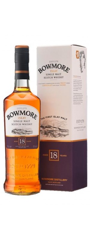 Bowmore 18yo Single Malt 70cl 70cl