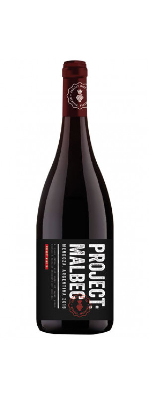 2020 Project Malbec, Project Wine Co 75cl
