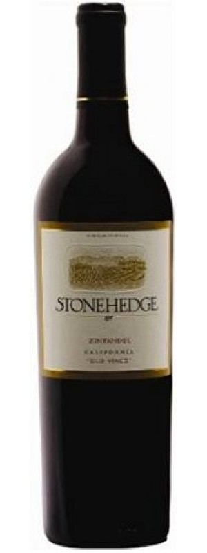 Zinfandel California Old Vine, Stonehedge 75cl