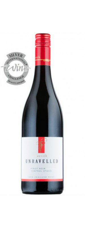 2018 Unravelled Pinot Noir, Carrick Winery 75cl