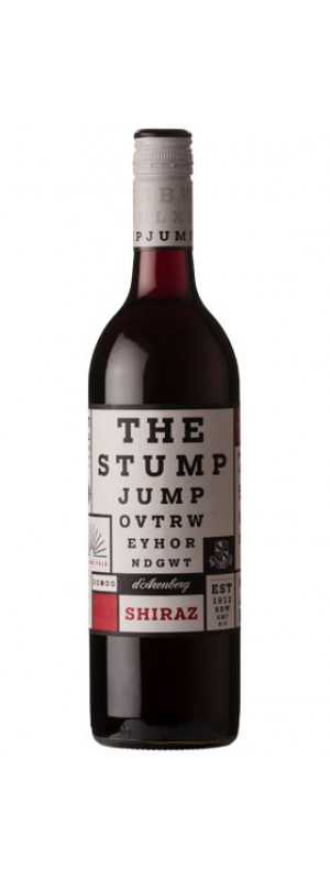 2017 The Stump Jump Shiraz, d'Arenberg 75cl