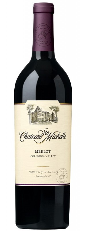 2017 Columbia Valley Merlot, Chateau Ste Michelle 75cl