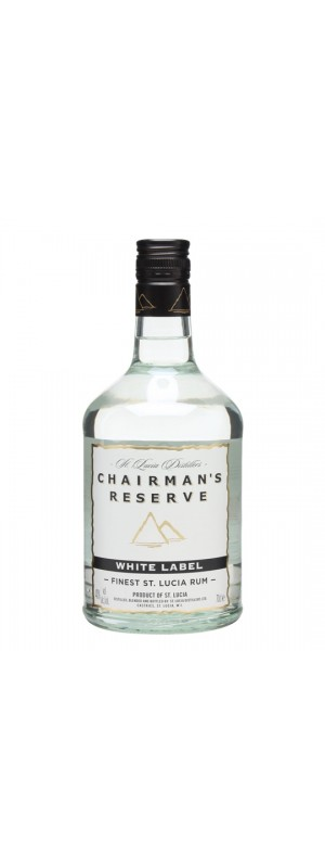 Chairman's Reserve White Label St Lucia Rum 70cl 70cl