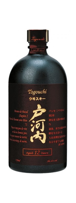 Togouchi Japanese Blended Whisky 12yo 70cl 70cl