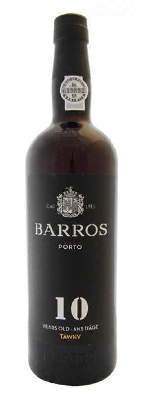 Barros 10 Year Old Tawny Port, Douro (Gift Box) 75cl