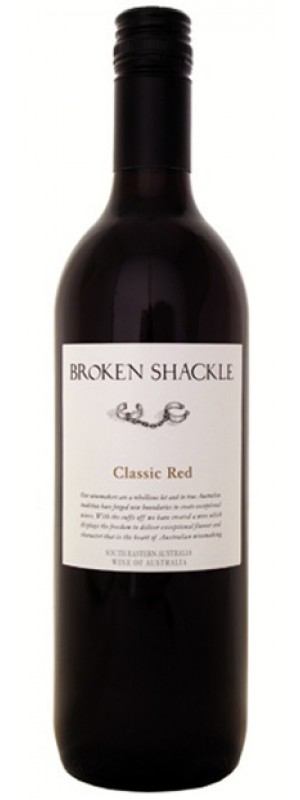 Broken Shackle Classic Red, South Eastern Australia 2016
