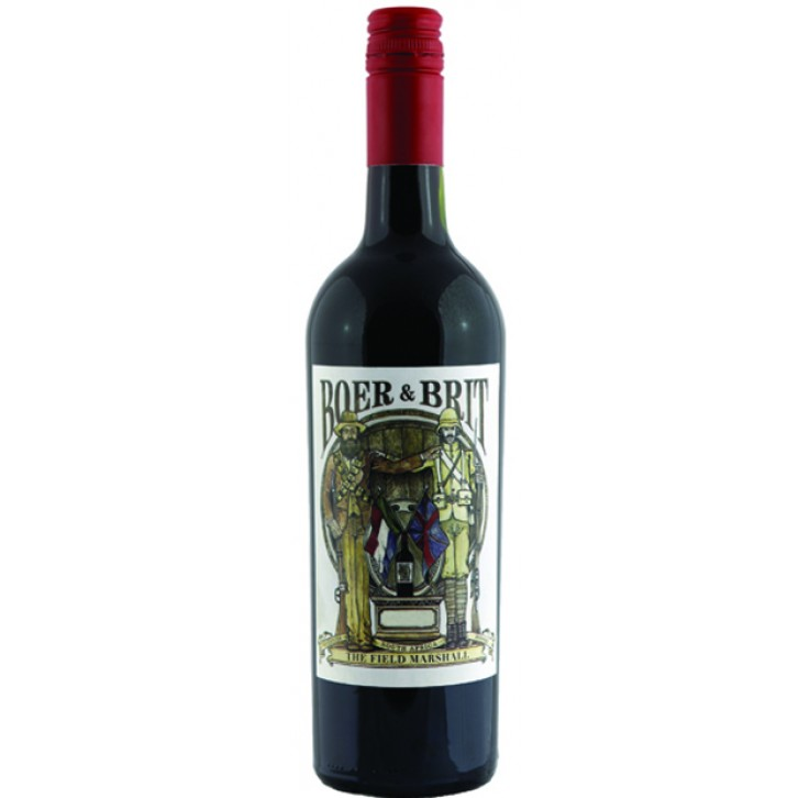 Boer and Brit, Western Cape, The Field Marshal 2014 75cl