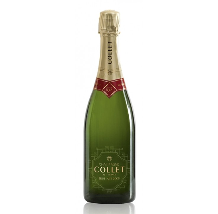 Champagne Collet Brut 1er Cru,  Art Deco NV 75cl